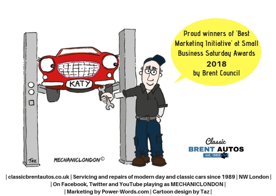 Classic Brent Autos best marketing initiative