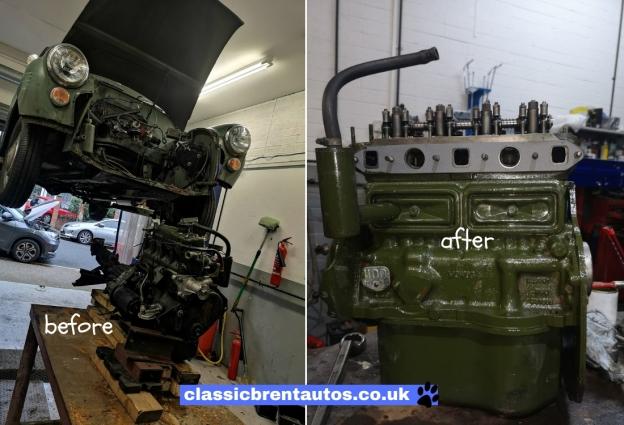 Classic Brent Autos Rolling Classic Car Restorations